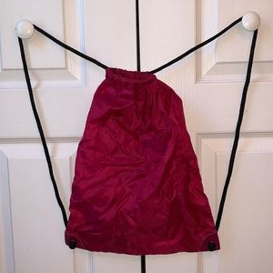 Handbags - Pink Drawstring Bag